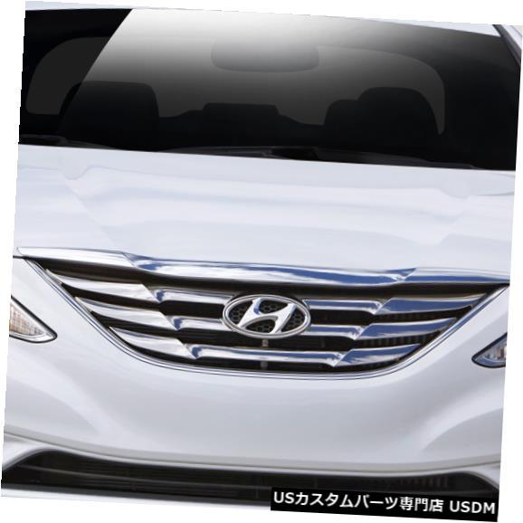Spoiler 11-13ヒュンダイソナタレーサーデュラフレックスフロントバンパーリップボディキットに適合!!! 112241 11-13 Fits Hyundai Sonata Racer Duraflex Front Bumper Lip Body Kit!!! 112241