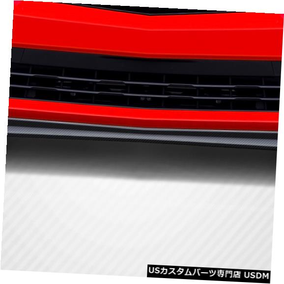 Spoiler 10-15シボレーカマロZ28ルックカーボンファイバーフロントバンパーリップボディキット!!! 109807 10-15 Chevrolet Camaro Z28 Look Carbon Fiber Front Bumper Lip Body Kit!!! 109807