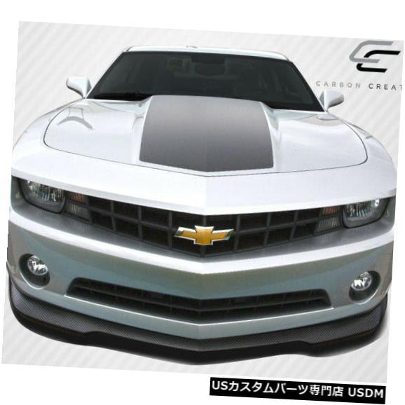 Spoiler 10-13シボレーカマロV6 GM-Xカーボンファイバーフロントバンパーリップボディキット!!! 106814 10-13 Chevrolet Camaro V6 GM-X Carbon Fiber Front Bumper Lip Body Kit!!! 106814