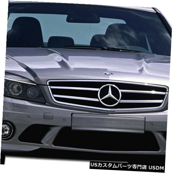 Spoiler 08-11メルセデスCクラス4DR C63外観Duraflexフロントボディキットバンパー!!! 107191 08-11 Mercedes C Class 4DR C63 Look Duraflex Front Body Kit Bumper!!! 107191