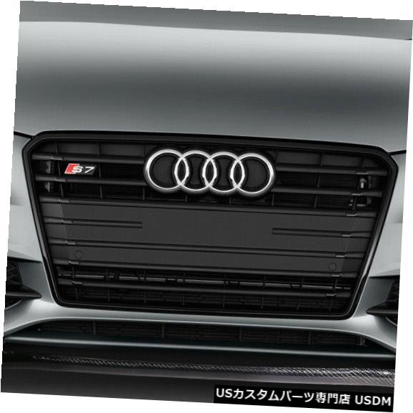 Spoiler 12-15アウディA7 Sラインカーボンファイバークリエーションズフロントバンパーリップボディキット!!! 113378 12-15 Audi A7 S Line Carbon Fiber Creations Front Bumper Lip Body Kit!!! 113378