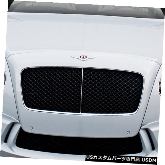 Spoiler 11-16 Bentley Continental GT Eros V.1 Duraflexフロントバンパーリップボディキット! 113954 11-16 Bentley Continental GT Eros V.1 Duraflex Front Bumper Lip Body Kit! 113954