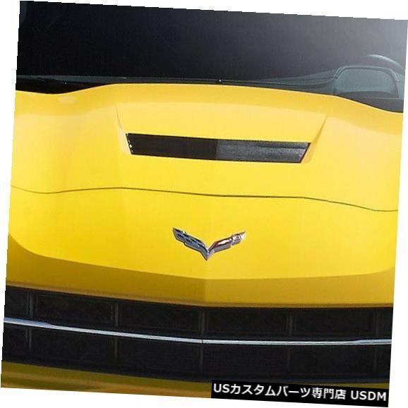 Spoiler 14-18シボレーコルベットGTコンセプトデュラフレックスフロントバンパーリップボディキット!!! 112361 14-18 Chevrolet Corvette GT Concept Duraflex Front Bumper Lip Body Kit!!! 112361