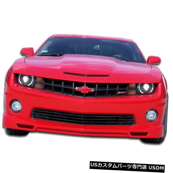 Spoiler 10-13シボレーカマロV8レーサーデュラフレックスフロントバンパーリップボディキット!!! 105982 10-13 Chevrolet Camaro V8 Racer Duraflex Front Bumper Lip Body Kit!!! 105982