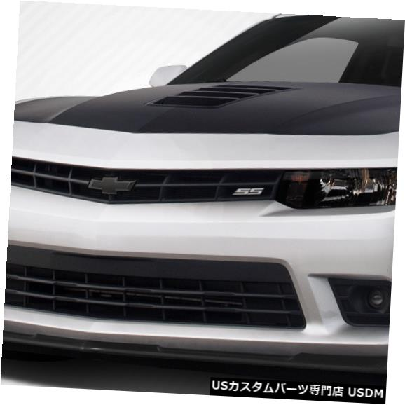 Spoiler 14-15シボレーカマロV8 GM-Xカーボンファイバーフロントバンパーリップボディキット!!! 112231 14-15 Chevrolet Camaro V8 GM-X Carbon Fiber Front Bumper Lip Body Kit!!! 112231