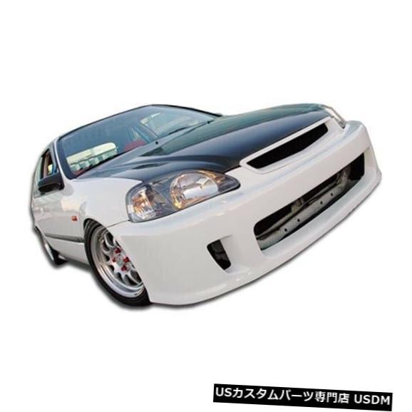 Spoiler 99-00ホンダシビックウィナーデュラフレックスフロントボディキットバンパー!!! 102109 99-00 Honda Civic Winner Duraflex Front Body Kit Bumper!!! 102109