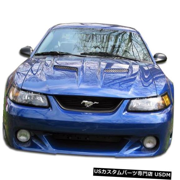 Spoiler 99-04フォードマスタングCVXデュラフレックスフロントボディキットバンパー!!! 104838 99-04 Ford Mustang CVX Duraflex Front Body Kit Bumper!!! 104838