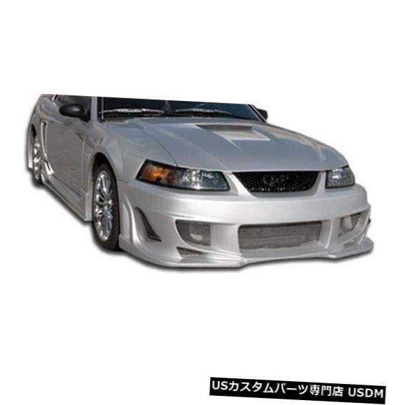 Spoiler 99-04フォードマスタングボンバーデュラフレックスフロントボディキットバンパー!!! 103273 99-04 Ford Mustang Bomber Duraflex Front Body Kit Bumper!!! 103273