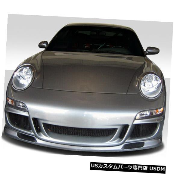 Spoiler 99-04ポルシェ996 GT-3 Duraflex Convフロントボディキットバンパー!!! 105125 99-04 Porsche 996 GT-3 Duraflex Conv Front Body Kit Bumper!!! 105125