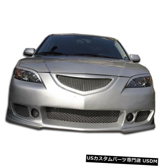 Spoiler 04-09マツダマツダ3 4DR B-2 Duraflexフロントボディキットバンパー!!! 100562 04-09 Mazda Mazda 3 4DR B-2 Duraflex Front Body Kit Bumper!!! 100562