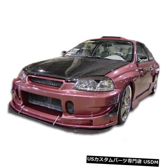 Spoiler 96-98ホンダシビックバディデュラフレックスフロントボディキットバンパー!!! 101736 96-98 Honda Civic Buddy Duraflex Front Body Kit Bumper!!! 101736