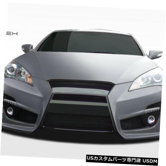 Spoiler 10-12ヒュンダイジェネシス2DR TP-R Duraflexフロントボディキットバンパーに適合!!! 107749 10-12 Fits Hyundai Genesis 2DR TP-R Duraflex Front Body Kit Bumper!!! 107749