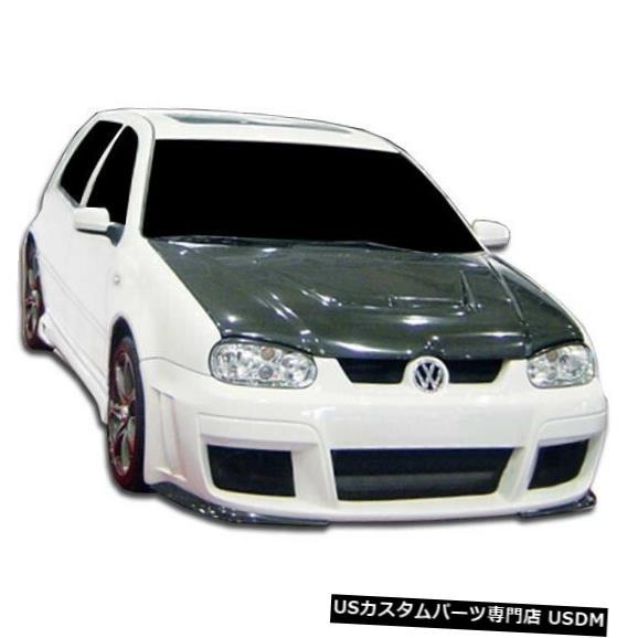 Spoiler 99-05フォルクスワーゲンゴルフベロシティデュラフレックスフロントボディキットバンパー!!! 104520 99-05 Volkswagen Golf Velocity Duraflex Front Body Kit Bumper!!! 104520