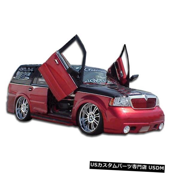 Spoiler 03-06リンカーンナビゲーターVIP Duraflexフロントボディキットバンパー!!! 103985 03-06 Lincoln Navigator VIP Duraflex Front Body Kit Bumper!!! 103985