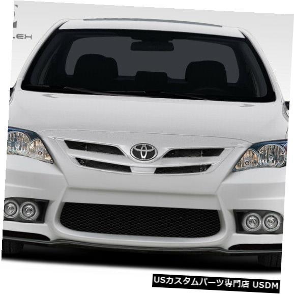 Spoiler 11-13トヨタカローラW-1デュラフレックスフロントボディキットバンパー!!! 108398 11-13 Toyota Corolla W-1 Duraflex Front Body Kit Bumper!!! 108398