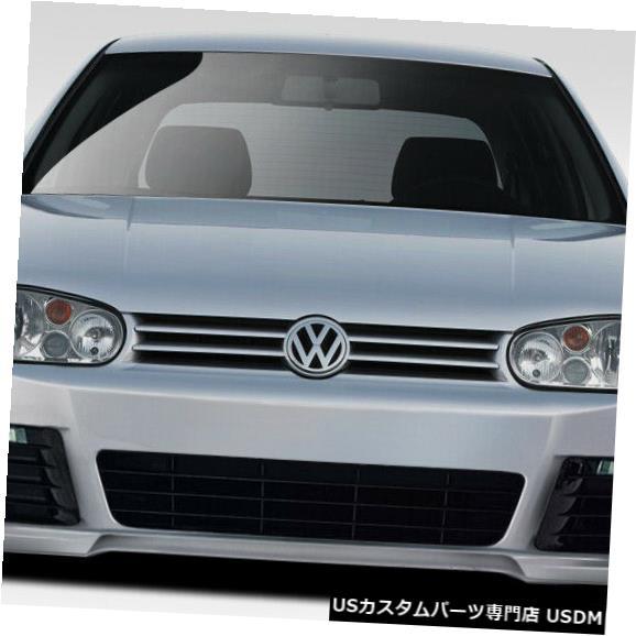 Spoiler 99-05フォルクスワーゲンゴルフRルックDuraflexフロントボディキットバンパー!!! 109475 99-05 Volkswagen Golf R Look Duraflex Front Body Kit Bumper!!! 109475
