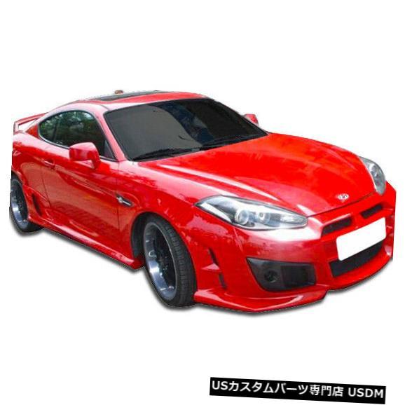 Spoiler 07-08ヒュンダイティブロンアドニスデュラフレックスフロントボディキットバンパーに適合!!! 107443 07-08 Fits Hyundai Tiburon Adonis Duraflex Front Body Kit Bumper!!! 107443