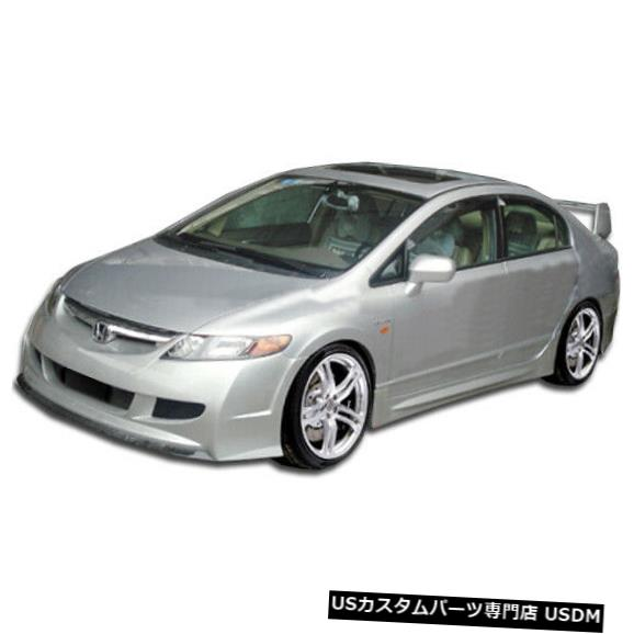 Spoiler 06-11ホンダシビック4DR R-Spec Duraflexフロントボディキットバンパー!!! 104428 06-11 Honda Civic 4DR R-Spec Duraflex Front Body Kit Bumper!!! 104428