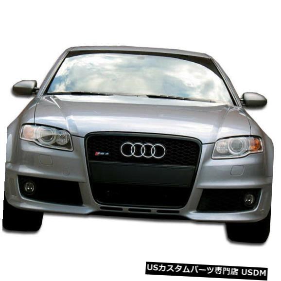 Spoiler 06-08アウディA4 RS4デュラフレックスフロントワイドボディキットバンパー!!! 105317 06-08 Audi A4 RS4 Duraflex Front Wide Body Kit Bumper!!! 105317