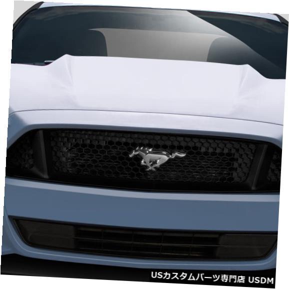 Spoiler 15-17フォードマスタンググリッドDuraflexフロントボディキットバンパー!!! 112563 15-17 Ford Mustang Grid Duraflex Front Body Kit Bumper!!! 112563