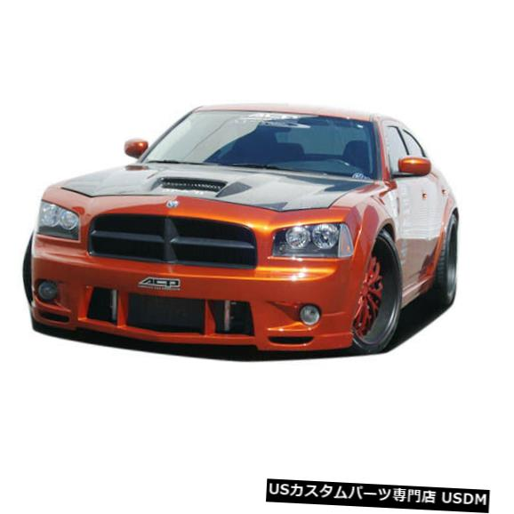 Spoiler 06-10ダッジチャージャーラックスクチュールフロントワイドボディキットバンパー!!! 104812 06-10 Dodge Charger Luxe Couture Front Wide Body Kit Bumper!!! 104812