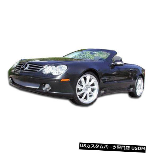 Spoiler 03-08メルセデスSL LR-Sデュラフレックスフロントボディキットバンパー!!! 103734 03-08 Mercedes SL LR-S Duraflex Front Body Kit Bumper!!! 103734