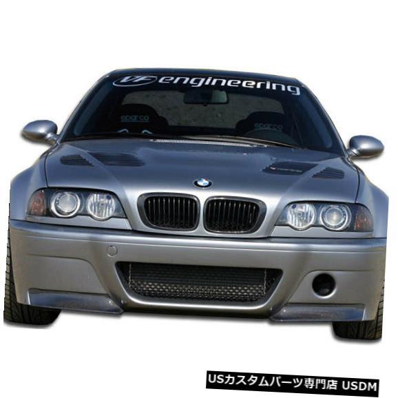 Spoiler 01-06 BMW M3コンバーチブルCSLルックカーボンファイバーフロントボディキットバンパー!!! 105346 01-06 BMW M3 Convertible CSL Look Carbon Fiber Front Body Kit Bumper!!! 105346