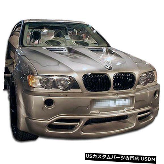 Spoiler 00-03 BMW X5プラチナDuraflexフロントボディキットバンパー!!! 100001 00-03 BMW X5 Platinum Duraflex Front Body Kit Bumper!!! 100001