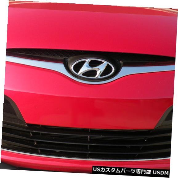 Spoiler 12-15ヒュンダイベロスターノンターボデュラフレックスフロントバンパーリップボディキット112786に適合 12-15 Fits Hyundai Veloster Non-Turbo Duraflex Front Bumper Lip Body Kit 112786
