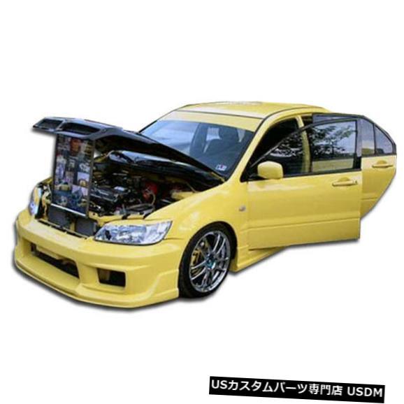 Spoiler 02-03三菱ランサーK-1デュラフレックスフロントボディキットバンパー!!! 100366 02-03 Mitsubishi Lancer K-1 Duraflex Front Body Kit Bumper!!! 100366