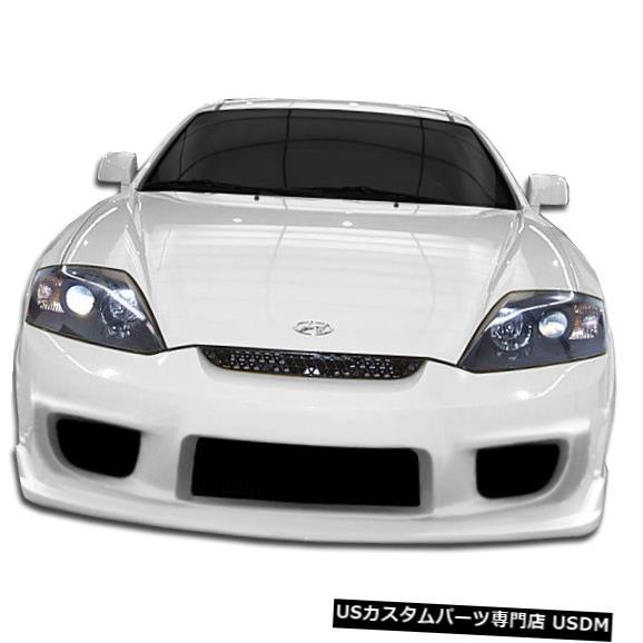 Spoiler 03-06ヒュンダイティブロンI-Specデュラフレックスフロントボディキットバンパーに適合!!! 105555 03-06 Fits Hyundai Tiburon I-Spec Duraflex Front Body Kit Bumper!!! 105555