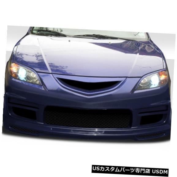 Spoiler 04-09マツダマツダ3 4DR K-2デュラフレックスフロントボディキットバンパー!!! 104902 04-09 Mazda Mazda 3 4DR K-2 Duraflex Front Body Kit Bumper!!! 104902