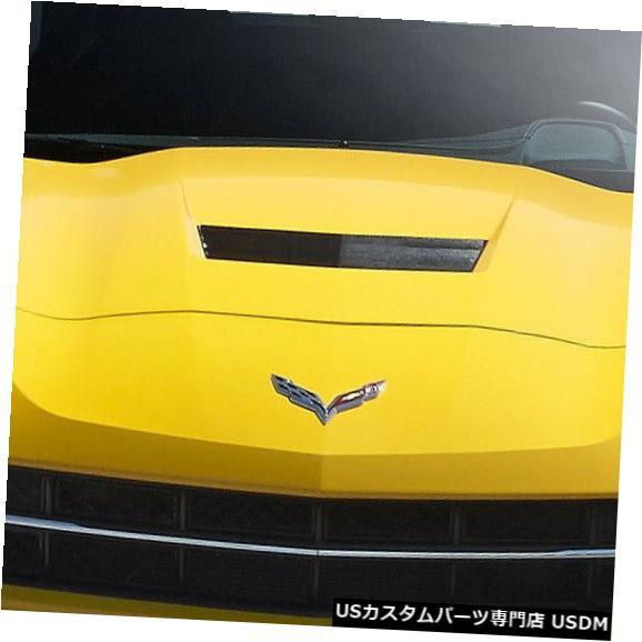 Spoiler 14-18 Corvette Thunderbolt DriTechカーボンファイバーフロントバンパーリップボディキット113158 14-18 Corvette Thunderbolt DriTech Carbon Fiber Front Bumper Lip Body Kit 113158