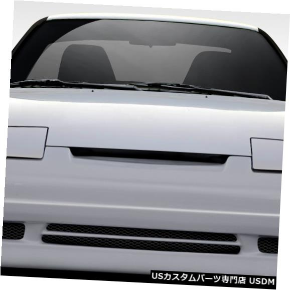 Spoiler 89-94は日産240SX Supercool Duraflexフロントボディキットバンパーに適合!!! 109975 89-94 Fits Nissan 240SX Supercool Duraflex Front Body Kit Bumper!!! 109975