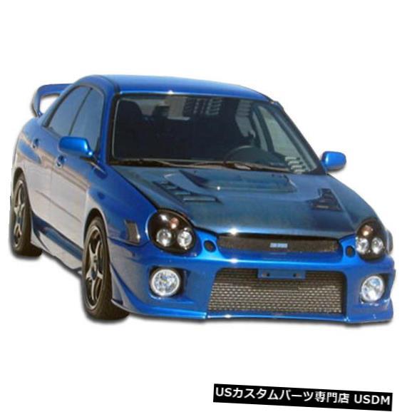 Spoiler 02-03スバルインプレッサ4DRゼロデュラフレックスフロントボディキットバンパー!!! 100408 02-03 Subaru Impreza 4DR Zero Duraflex Front Body Kit Bumper!!! 100408