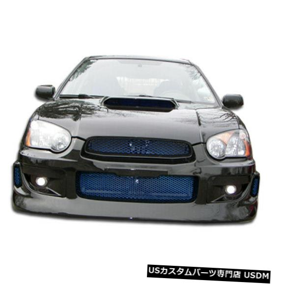 Spoiler 04-05スバルインプレッサGTコンペティションデュラフレックスフロントボディキットバンパー!!! 100606 04-05 Subaru Impreza GT Competition Duraflex Front Body Kit Bumper!!! 100606