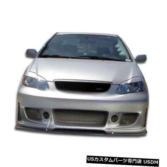 Spoiler 03-08トヨタカローラB-2デュラフレックスフロントボディキットバンパー!!! 100532 03-08 Toyota Corolla B-2 Duraflex Front Body Kit Bumper!!! 100532