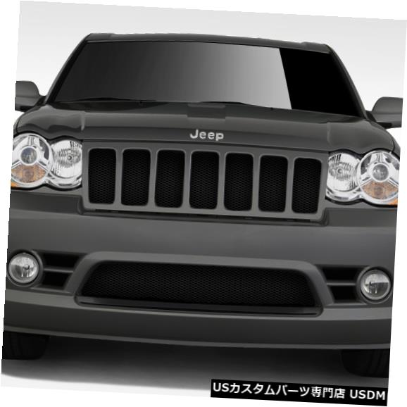 Spoiler 08-10ジープグランドチェロキーSRTルックデュラフレックスフロントボディキットバンパー!!! 109327 08-10 Jeep Grand Cherokee SRT Look Duraflex Front Body Kit Bumper!!! 109327