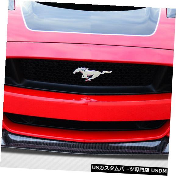Spoiler 15-17フォードマスタングGTコンセプトカーボンファイバーフロントバンパーリップボディキット!!! 112248 15-17 Ford Mustang GT Concept Carbon Fiber Front Bumper Lip Body Kit!!! 112248