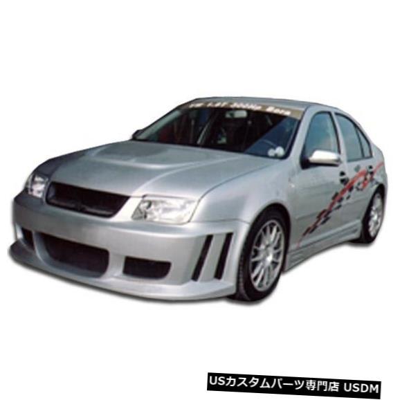 Spoiler 99-04フォルクスワーゲンジェッタピラニアデュラフレックスフロントボディキットバンパー!!! 102194 99-04 Volkswagen Jetta Piranha Duraflex Front Body Kit Bumper!!! 102194