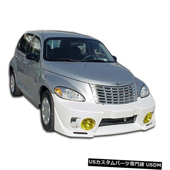 Spoiler 01-05クライスラーPTクルーザーEVO 5デュラフレックスフロントボディキットバンパー!!! 100218 01-05 Chrysler PT Cruiser EVO 5 Duraflex Front Body Kit Bumper!!! 100218