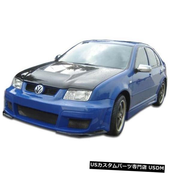 Spoiler 99-04フォルクスワーゲンジェッタベロシティデュラフレックスフロントボディキットバンパー!!! 104525 99-04 Volkswagen Jetta Velocity Duraflex Front Body Kit Bumper!!! 104525