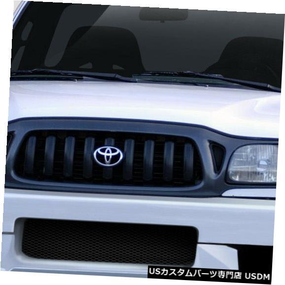 Spoiler 01-04トヨタタコマエクストリームデュラフレックスフロントボディキットバンパー 108790 01-04 Toyota Tacoma Xtreme Duraflex Front Body Kit Bumper 108790