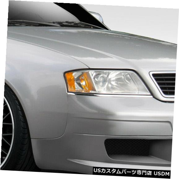 Spoiler 98-05アウディA6 4DR VIP Duraflexフロントボディキットバンパー!!! 103494 98-05 Audi A6 4DR VIP Duraflex Front Body Kit Bumper!!! 103494