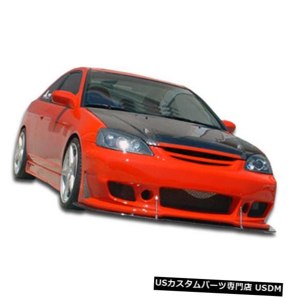 Spoiler 01-03ホンダシビック2DR B-2 Duraflexフロントボディキットバンパー!!! 100247 01-03 Honda Civic 2DR B-2 Duraflex Front Body Kit Bumper!!! 100247