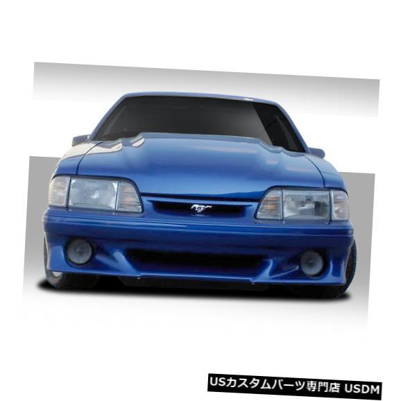 Spoiler 87-93フォードマスタングストーカーデュラフレックスフロントボディキットバンパー!!! 103760 87-93 Ford Mustang Stalker Duraflex Front Body Kit Bumper!!! 103760