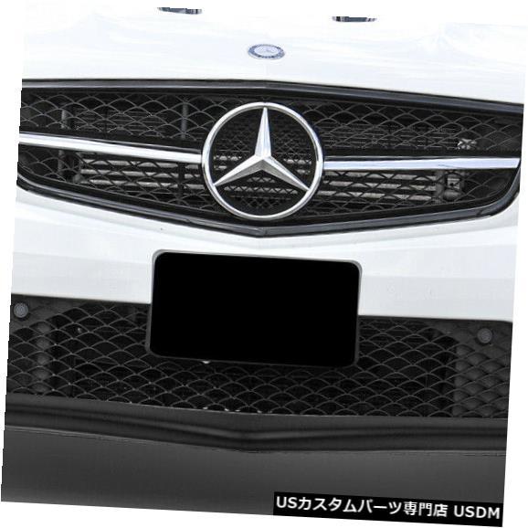 Spoiler 12-14メルセデスCクラスBSルックDuraflexフロントバンパーリップボディキット!!! 112748 12-14 Mercedes C Class BS Look Duraflex Front Bumper Lip Body Kit!!! 112748