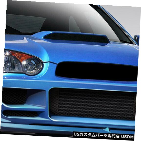 Spoiler 04-05スバルインプレッサハーモンデュラフレックスフロントボディキットバンパー!!! 109026 04-05 Subaru Impreza Harmon Duraflex Front Body Kit Bumper!!! 109026