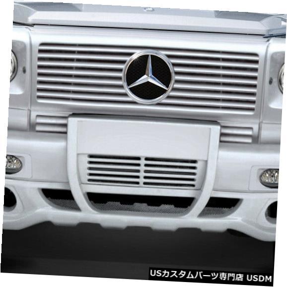 Spoiler 00-10メルセデスGクラスエロスバージョン1デュラフレックスフロントバンパーリップボディキット! 112807 00-10 Mercedes G Class Eros Version 1 Duraflex Front Bumper Lip Body Kit! 112807