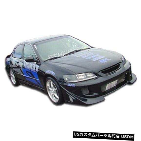 Spoiler 98-02ホンダアコード4DRブリッツデュラフレックスフロントボディキットバンパー!!! 101982 98-02 Honda Accord 4DR Blits Duraflex Front Body Kit Bumper!!! 101982
